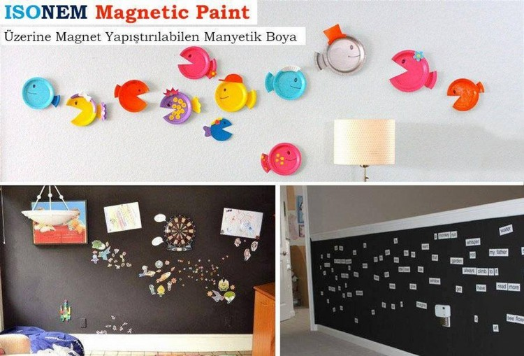 ISONEM MAGNETIC PLASTER Application Photos