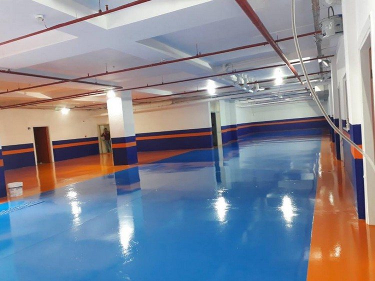 ISONEM SHINE FLOOR Application Photos