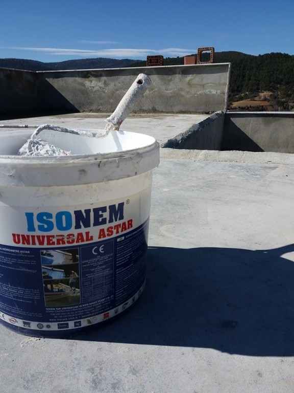 ISONEM UNIVERSAL PRIMER Application Photos