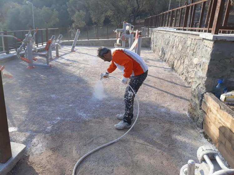 ISONEM SS SOIL HARDENER Application Photos