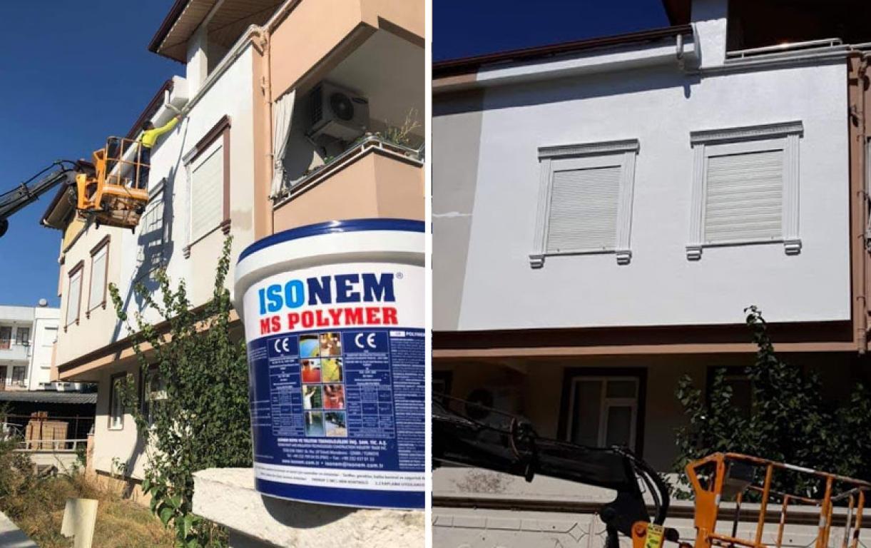 ISONEM MS POLYMER Application Photos