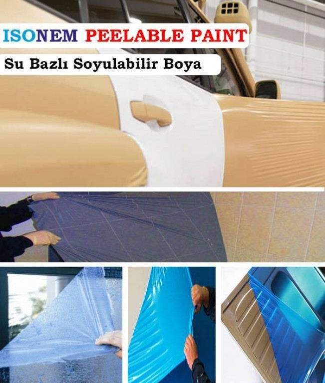 ISONEM PEELABLE PAINT Application Photos