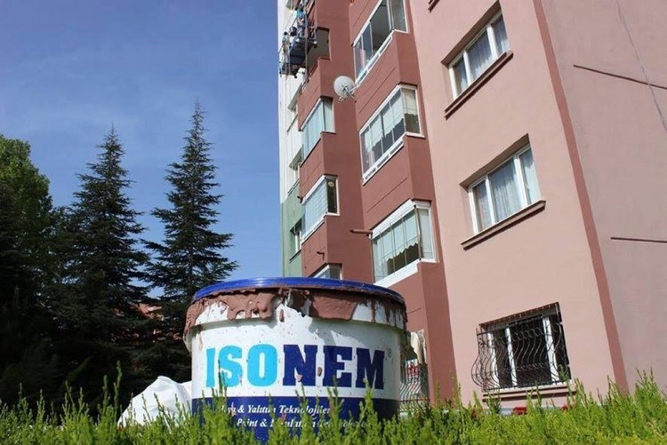 ISONEM THERMAL PAINT Uygulama Görselleri