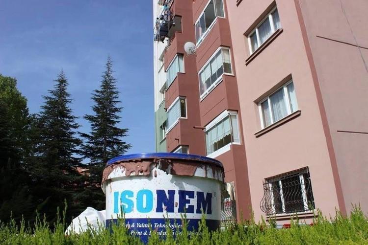 ISONEM THERMAL PAINT Application Photos