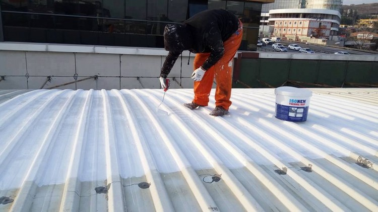 ISONEM THERMAL ROOF Application Photos