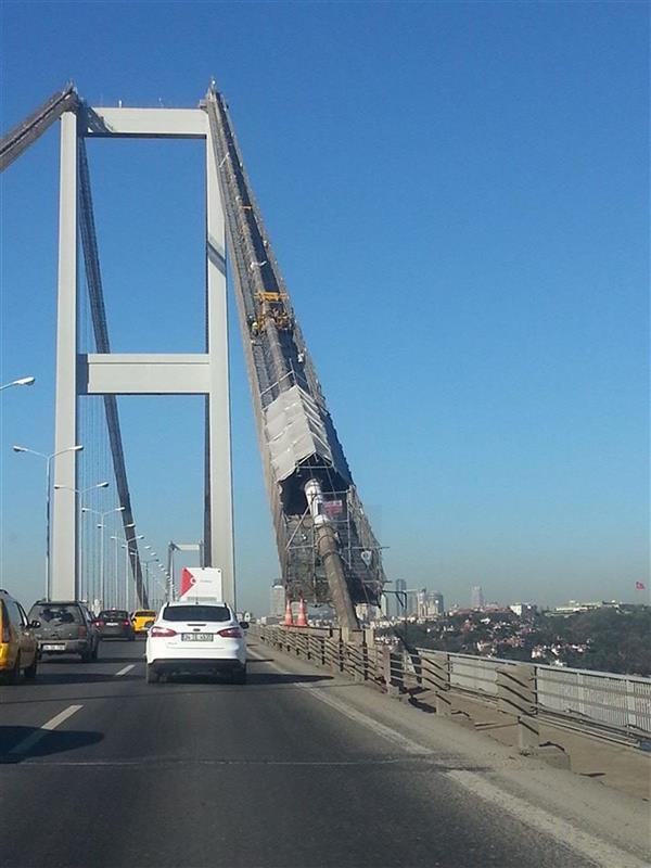 ISONEM ANTI FIRE APPLICATIONS SOLUTION TO ISTANBUL BOSPHORUS BRIDGE