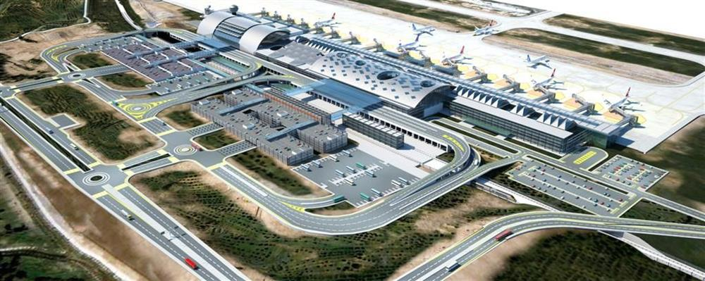 IZMIR ADNAN MENDERES AIRPORT ISONEM WITH THERMAL PAINT COATING