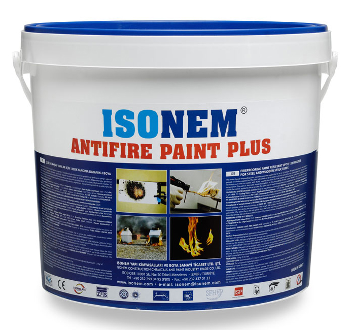 ISONEM ANTIFIRE PAINT PLUS