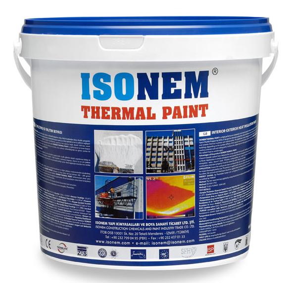 ISONEM THERMAL PAINT - Insulation Paint - Isonem Paint