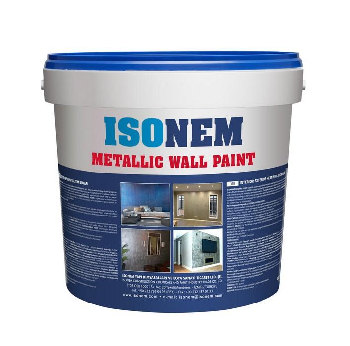 ISONEM METALLIC WALL PAINT