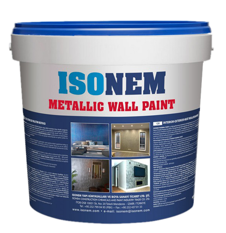 ISONEM METALLIC WALL PAINT